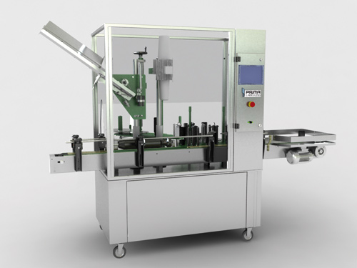Still wine labelling machine for cylindrical or conical bottles - PLL2500